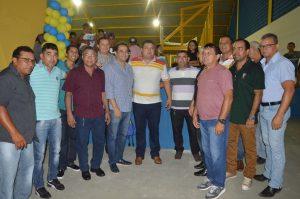Priante participa de inauguração de complexo esportivo em Salinópolis