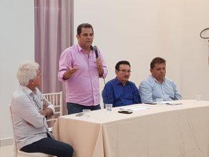 Priante participa de reunião do MDB em Santarém