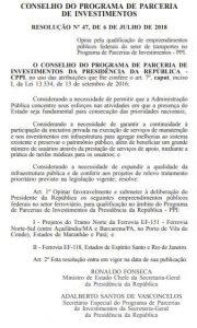 Governo Federal confirma construção de Ferrovia no Pará