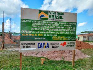 Deputado Priante destina verba para Construção de Unidade de Saúde da Mulher em Óbidos