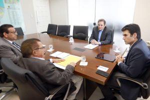 Deputado Priante e prefeito Bira Barbosa se reúnem com governador Hélder para tratar da reconstrução de Chaves