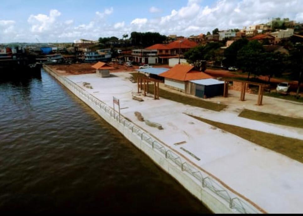 Nélio e Priante inauguram a nova orla da Vila Arigó